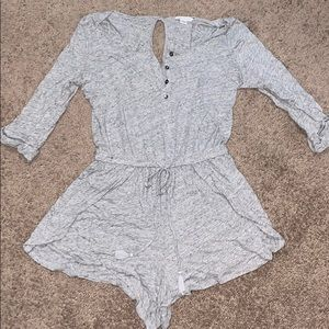 Grey American Eagle romper